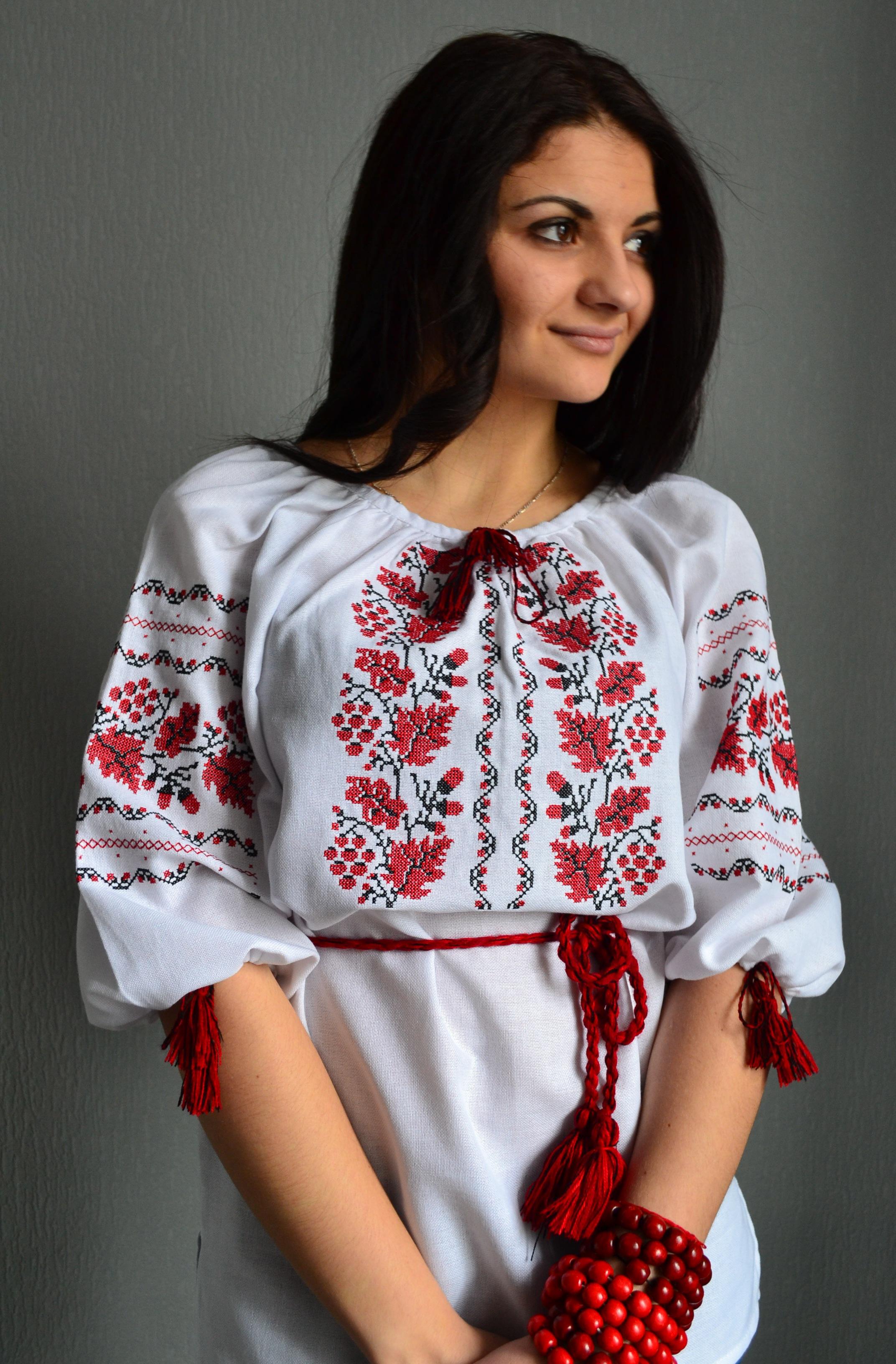 Вишиті Блузки Фото